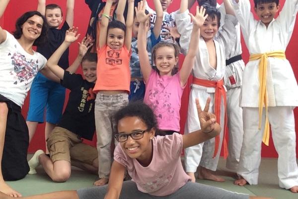 Pot de fin de saison avec les enfants du No Kachi Lyon