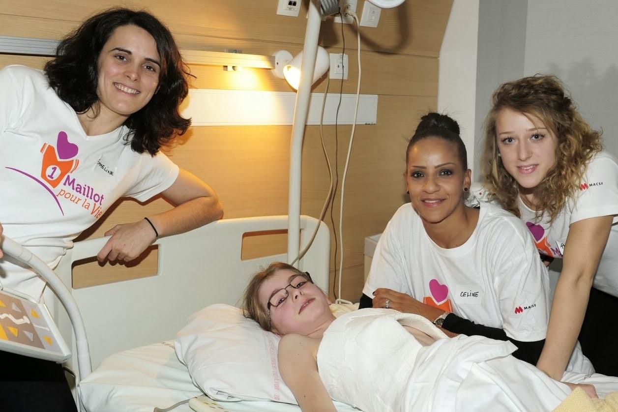 Goûter à l'Hôpital Femme Mère Enfant grâce à Un maillot pour la vie